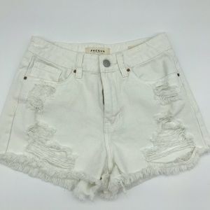 PACSUN // Distressed Mom Short
